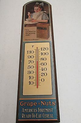 Grape Nuts Advertising Thermometer
