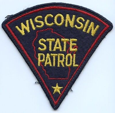 1960's Wisconsin State Patrol Patch