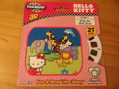 Hello Kitty Viewmaster Reel - Story 1 - Trip To The Zoo