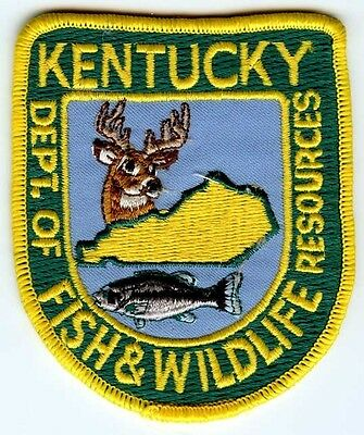 1980's Kentucky Department of Fish & Wildlife Services Patch