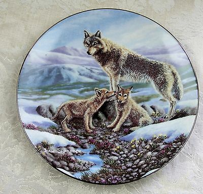 "Wolf & Pups! ""Spirits of the Wild"" Treasures of the Arctic - Bradex: 8-D52-15.2"