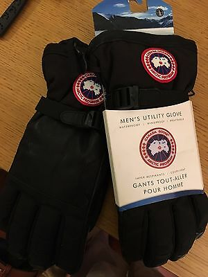 Canada Goose BNWT Black L Men's Utility Gloves
