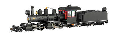 Bachmann 29004 On30 Painted & Unlettered 2-4-4-2 Wood Cab w/DCC