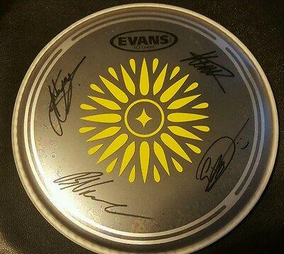Rare! IN HEARTS WAKE Autographed Drumhead by All!