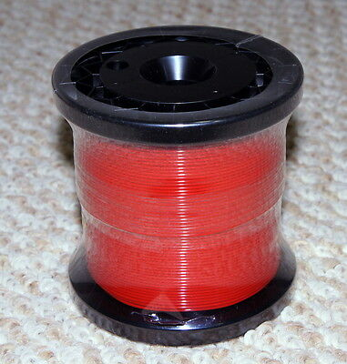 UPOCC Silver and Gold Alloy Wire With Red Teflon Insulation, 26 Gauge Solid-Core