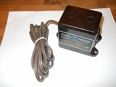 Cornell-Dubilier IF-21 Quietone Interference filter original box and papers