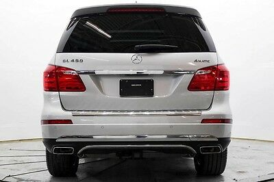 2016 Mercedes-Benz GL-Class GL450 4Matic AWD Nav Htd & AC Seats Prem 1 Pkg Pwr Sunroof Repairable Rebuildable Lot Drives