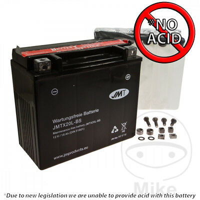JMT maintenance-free Battery YTX20L-BS For Triumph Thunderbird 1600 ABS 2011