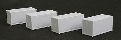 MicroTrains 76000000 Z 20' Container 4-Pack