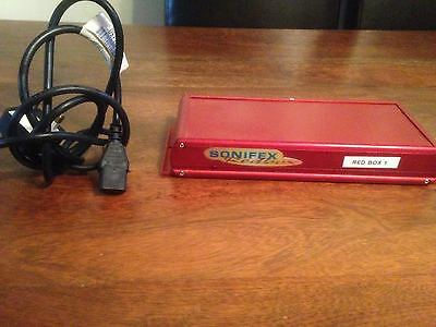 Sonifex Redbox RB-MA1 Mic Preamp Amplifier low noise microphone Amp Mixing Equip