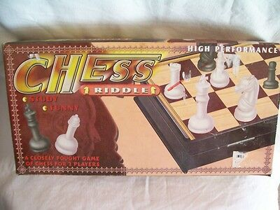 Vintage Chess Set (Made in China)