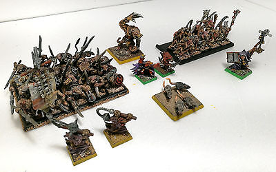"Warhammer Fantasy- Age Of Sigmar ""skaven Army Lot -  Battalion"" Pro Paint"