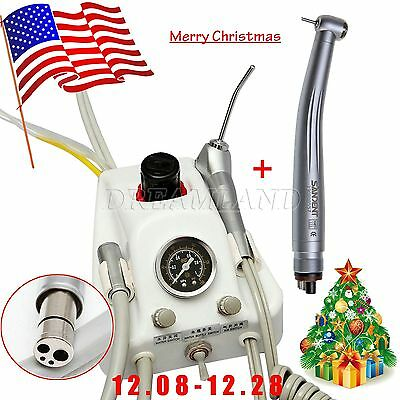 Dental Portable Turbine Delivery Unit 4 H Tube & High Speed Handpiece Y1V