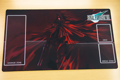 F1140 Free Mat Bag FF7 Vincent Valentine Final Fantasy Trading Card Game Playmat