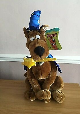 Large Collectable Scooby Doo Magician/Wizard Plush Soft Toy-BNWT 17""