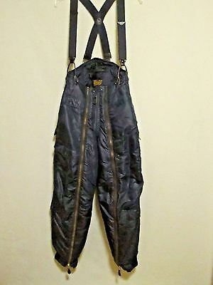 Vintage Blue Air Force Trousers-Flying-Intermediate Type A-11C Size 28