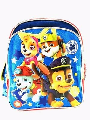 "Brand New Paw Patrol 10"" Small size Backpack Kids Boys Backpack Bag"