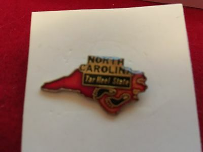 Lapel Pin The State of North Carolina - The Tar Heel State Pin