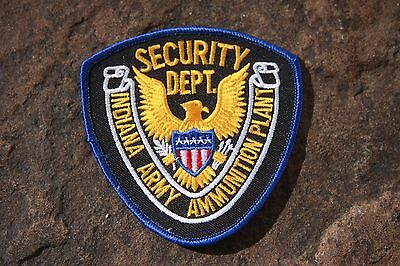 Vintage Patch Indiana Army Ammunition Plant Security Department