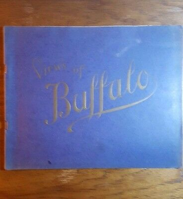 Views of Buffalo, New York,(1907), S.H. Knox, photo plate booklet