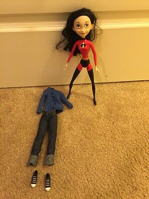 "Disney The Incredibles Violet Daughter 12"" Doll Action Figure EUC Rare"