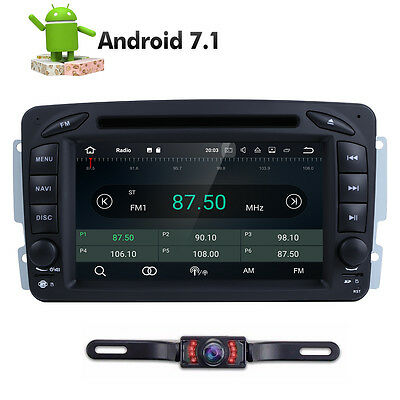 Android 7.1 Car DVD Radio Stereo GPS for Mercedes-Benz C Class W203 S203 W463