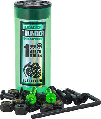 "THUNDER 1"" ALLEN SKATE HARDWARE GREEN 1set"
