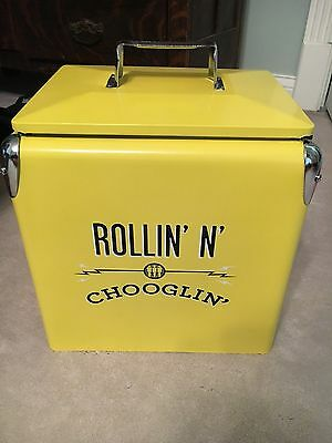 Third Man Records Rolling Record Store Metal Cooler RARE