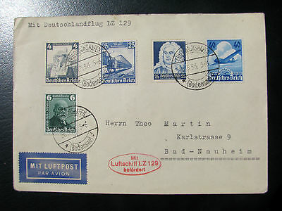 Germany Graf Zeppelin 1936 cover
