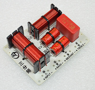 2PCS 150W 3 Way Hifi Speaker Frequency Divider Audio Crossover Filter Circuit LW