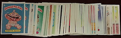 1985 GARBAGE PAIL KIDS 2nd Series 2 COMPLETE SET 84 Cards 42 A,B to 83 A,B VG-M