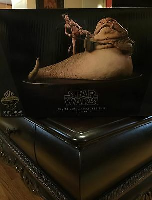 Star Wars Sideshow You're Going To Regret This Diorama Jabba Statue EXCLUSIVE