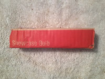 Westinghouse NOS Showcase Bulb, 115-125V 40W. Frosted