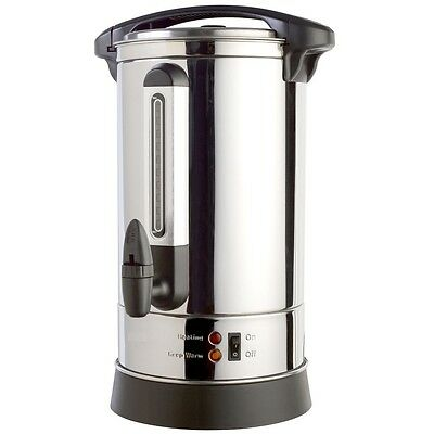 VonShef Catering Urn - Stainless Steel - Electric, Domestic or Commercial [20L]