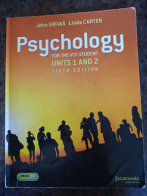 Psychology for the VCE Student Units 1&2 Sixth edition.