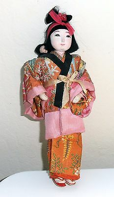 Vintage Japanese  Doll --Mother and Child 1940's