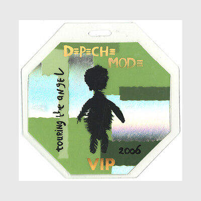 Depeche Mode authentic 2006 tour Laminated Backstage Pass