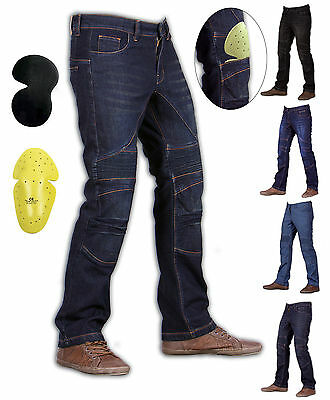 Force Rider Skinny Motorcycle Jeans with DuPont™ Kevlar® + CE armour hip/knee