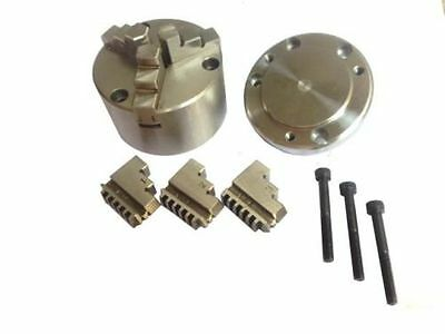 100 mm Self Centering Chuck with Backplate