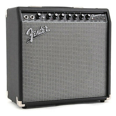 "Fender Champion 40 Solid-State Amp 12"" 40W Effects DEMO"