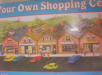 "HO scale IHC ""Shopping Centre"" Assembly kit"