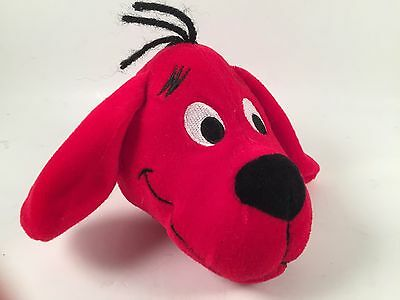 CLIFFORD Big Red Dog Clip-On Zip Up Story Book