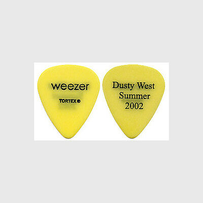 Weezer Brian Bell authentic 2002 tour Guitar Pick