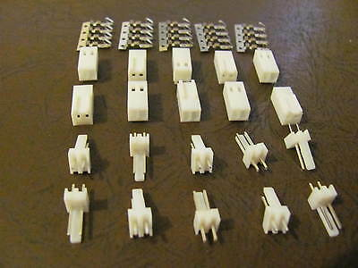 10 sets  KF2510-2P  2.54mm 2pin Male & Female Connector & Terminal