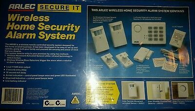 arlec wireless home security system