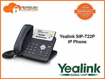 Yealink SIP-T22P IP Phone + Power Supply - 450 units in stock
