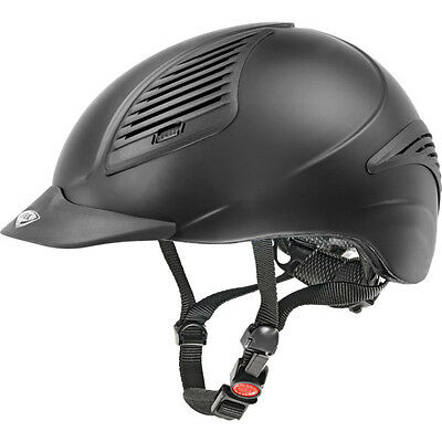 Uvex Riding helmet exxential black mat featherweight Polycarbonate