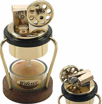 WILESCO D2 TOY STEAM ENGINE See Video - NEW and MADE IN GERMANY
