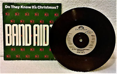 """Band Aid Ii-Do They Know It's Christmas-1989-7"""" Vinyl-Vg+/ex-"""