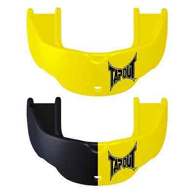Tapout Mouth Guards Pack of 2 Yellow/Black - ALL Sport Mouthguard | Youth Size